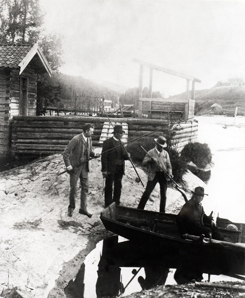 The Lågen ca 1890